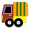 Lorry  coloring page